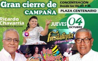 Gran cierre de campaña de Jaime Uribe Ochoa (VIDEO)