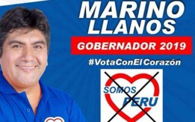 Jueves 4 de Octubre, acompaña a Marino Llanos  en su cierre de campaña (VIDEO)