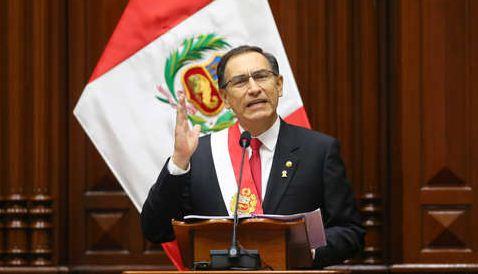 Martín Vizcarra convocará este martes el referéndum para reformas políticas y judiciales