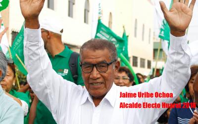 Jaime Uribe es elegido alcalde de Huaral