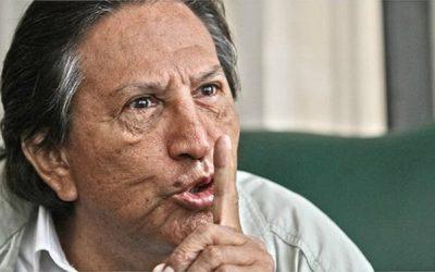ALEJANDRO TOLEDO PIERDE LA MEMORIA Y TEME SER ATACADO POR REO VIOLADOR