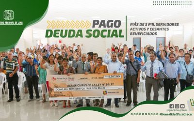 GRL DESTINA 35 MILLONES POR PAGO POR DEUDA SOCIAL