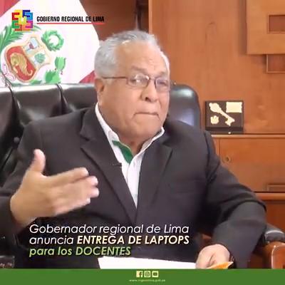 GRL ENTREGARA 5 MIL LAPTOP A PROFESORES ANUNCIO RICARDO CHAVARRIA