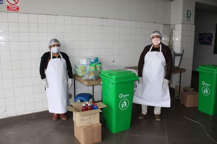 58 COMEDORES POPULARES RECIBEN IMPLEMENTOS DE BIOSEGURIDAD EN HUARAL