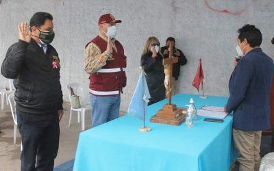 ALCALDE DE AUCALLAMA HUGO ALVAREZ ARTICULA MEDIDAS CONTRA COVID 19