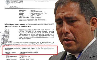 OTRO GOBERNADOR REGIONAL DE ANCASH A PUNTO DE IR A LA CARCEL
